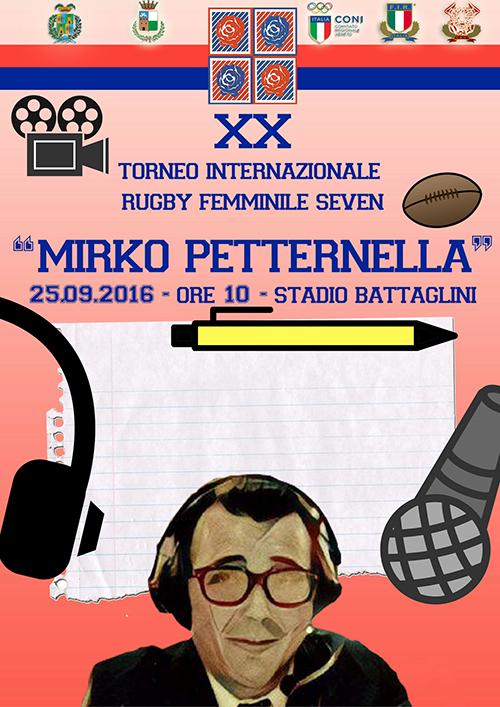 Comunicato stampa Torneo Internazionale di Rugby Seven Femminile Mirko Petternella