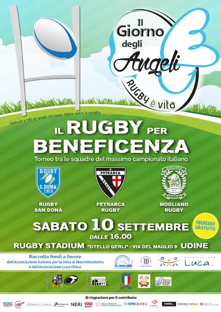 """Torneo benefico """" IL GIORNO DEGLI ANGELI """" 10.09.2016"""