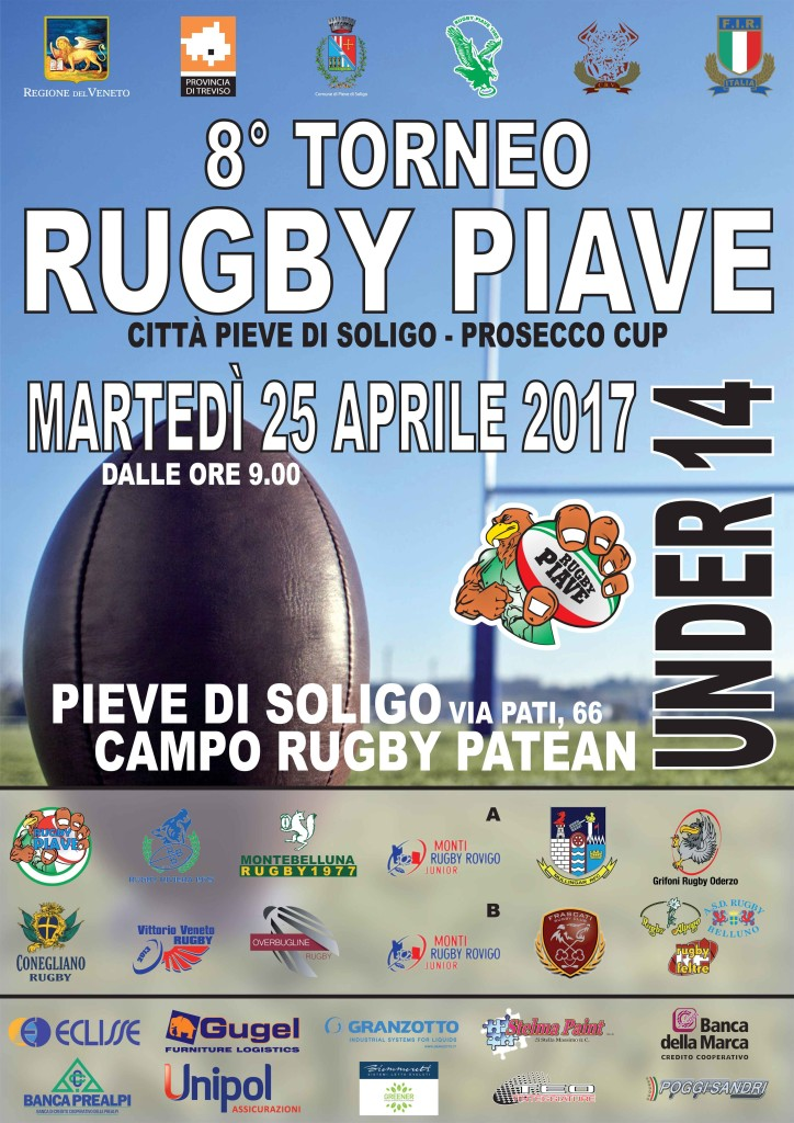 8° Torneo Rugby Piave Under 14 del  25.04.2017