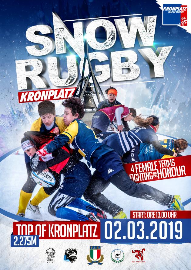 Snow Rugby a Plan de Corones 2019